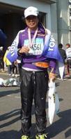代表 植松章 東京マラソンにて