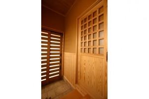 和風の玄関ドア