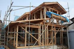 チルチンびと仕様の家 施工風景
