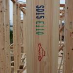 木材は基本として国産材を使用します。